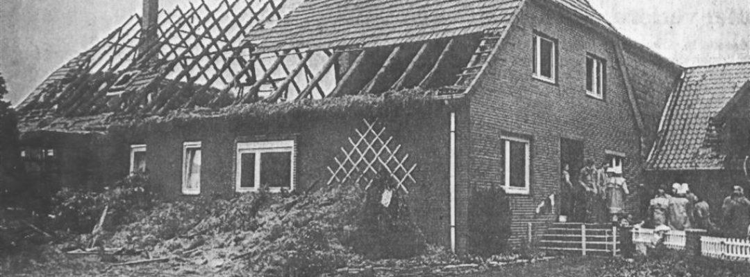1988 – Großbrand Wohnhaus Menze