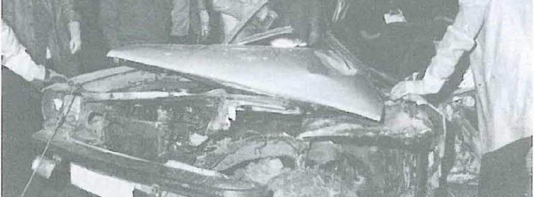 1989 – Verkehrsunfall in Brake
