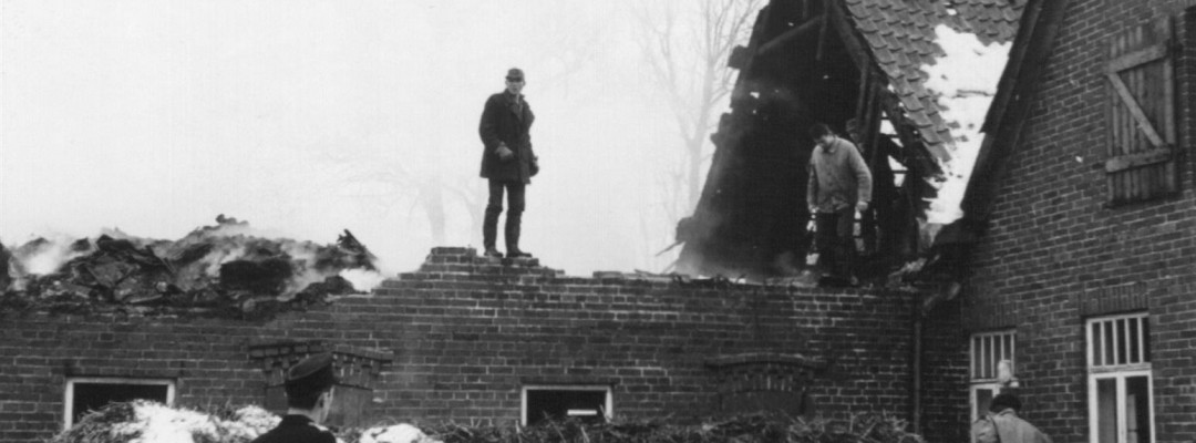 1966 – Brand bei Ludwig Meyer