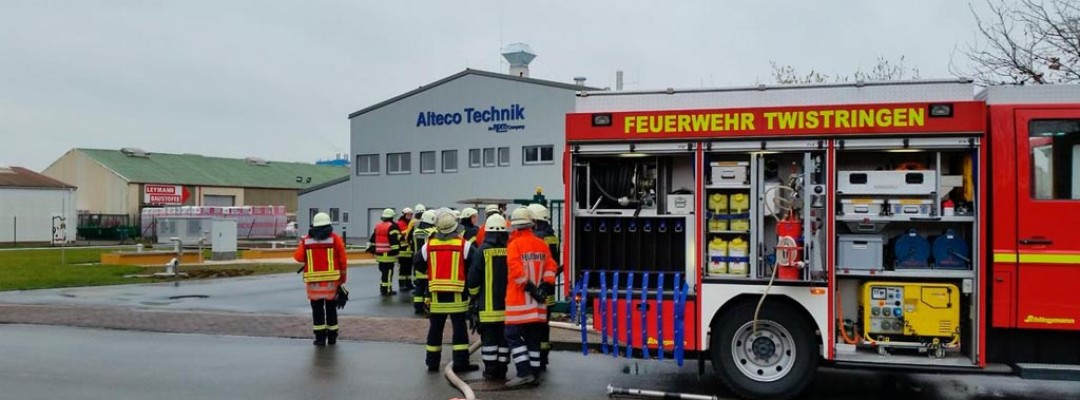 Störfall bei Alteco in Twistringen