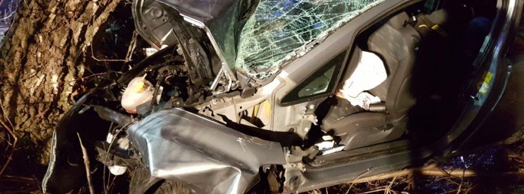 Verkehrsunfall auf B6 – 3 Verletzte